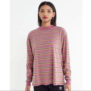 UO Carnaby striped neck top